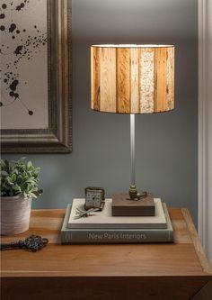 Lámparas de mesa recicladas con madera de palet súper originales – I Love Palets Table Lamp, Cooking Spoon, Lighting, Ideas Para, Love, Home Decor, Things To Make, Modern Ceiling, Deco