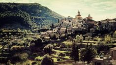 Deya, Majorca.. There are people who live there, up the hill. Day in and day out