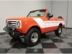 International Harvester, International Scout Ii, Scout 800, Lithia Springs, Free Ads, Ih, Monster Trucks, Vehicles, Scouts