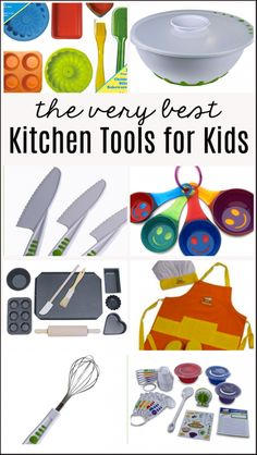 Kids Meals The best of the best kitchen tools for kids! - Teaching kids how to cook at home - tips and kid friendly recipes, including kitchen skills by age. Kids Cooking Recipes, Cooking Classes For Kids, Kids Meals, Cooking Tips, Kid Cooking, Cooking Games, Cooking Light, Easy Cooking, Kid Recipes