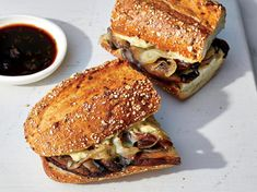 Plant-Based Mushroom French Dip Sandwiches Recipe - Cooking Light