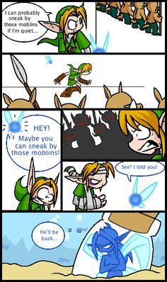 Navi! Shut up!  (Though its true, he will.)