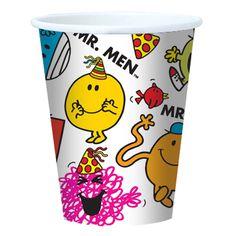 Mr Men Party Paper Cups £1.99 8pk