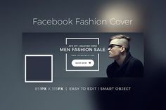 cool Facebook Fashion Cover & Banner V2 CreativeWork247 - Fonts, Graphi...