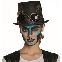 Chapeau haut de forme steampunk adulte