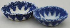 Finally - an idea which might make me do this for the first time.  Tapestry Crochet Baskets Before and After Felting