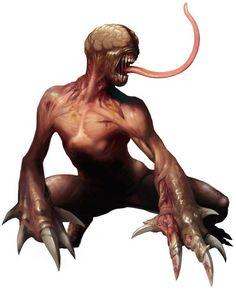 Resident Evil 2 - Licker