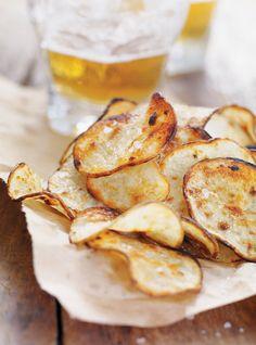 Pommes de terre grillées «sel et vinaigre» Recettes | Ricardo