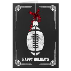 Shop chalkboard football player Christmas Cards created by XmasMall. Holiday Greeting Cards, Christmas Greetings, Christmas Cards, Happy Holidays, Xmas Holidays, Football Players, Paper Texture, Chalkboard, Invitations