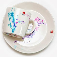 ART with porcelein paint