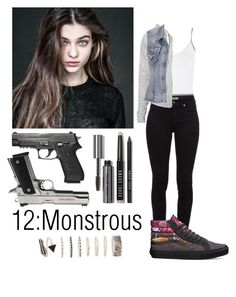 """Teen wolf"" by teddy-bear-princess on Polyvore featuring Mode, Bobbi Brown Cosmetics, WearAll, Burberry, Topshop, James Perse, maurices, Vans und Forever 21"