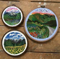 Tu recepcja - Embroidery byRachael Dobbins...