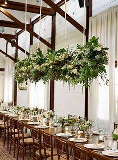 Floral chandeliers a