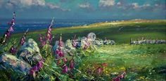 Mark PRESTON-Foxgloves, Rosemergy