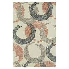 Kaleen Montage Ivory 8 ft. x 10 ft. Area Rug MTG01-01-810 at The Home Depot - Mobile