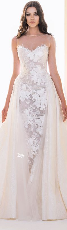 ♔LAYA♔SAIID KOBEISY 2016 BRIDAL♔ #coupon code nicesup123 gets 25% off at  www.Provestra.com www.Skinception.com and www.leadingedgehealth.com
