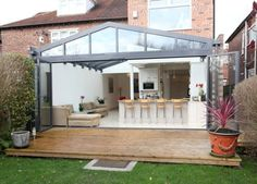 Modern and Contemporary Bespoke Glass Extensions - Interiors and Exteriors modern