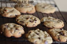 Guaranteed Chewy Chocolate Chip Cookies
