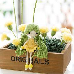Amigurumi - Doll Collection - Tiên hoa - Free Pattern