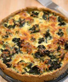 Lehtikaali-pekonipiirakka | Maku Savoury Baking, Always Hungry, Diy Food, No Bake Cake, Vegetable Pizza, Cooking Tips, Food Porn, Food And Drink, Healthy Recipes