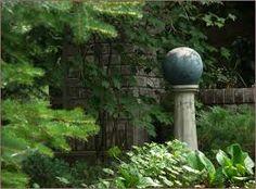 garden corner focal points - Google Search