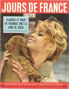 Brigitte Bardot - Jours de France n°143, 10 août 1957