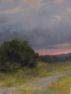 M. Shawn Cornell is primarily a plein air painter who also carries an interest in creating pottery and print making. Landscapes and the individual forms that exist in that realm are his subjects.
