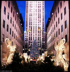 New York City Christmas Time.....this is my dream to spend Christmas in new York....
