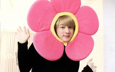 Kim seok jin as flower Seokjin, Hoseok, Bts Jin, Bts Jungkook, Bts House Of Army, Super Mario, Kpop, Bts 3rd Muster, Wattpad