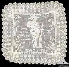 crochet em revista: crochet e a I Guerra Mundial
