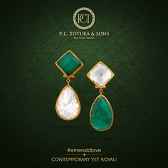 Unique & traditional in design, our emerald jewellery will lend you a contemporary ye royal look. P.C. Totuka & Sons. #PCTandSonsJaipur #JaipurJewellery #Jewelry #Jewellery #Emerald #Diwali #FestiveCelebratinos