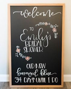 Great Snap Shots Bridal Shower quotes Suggestions Some sort of bridal shower is definitely an exciting, celebratory occasion allowing the bride's cl Bridal Shower Chalkboard, Bridal Shower Quotes, Wedding Shower Signs, Rustic Wedding Showers, Bridal Shower Welcome Sign, Chalkboard Wedding, Bridal Shower Rustic, Chalkboard Signs, Wedding Chalkboards