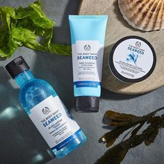 If you're out for a swim seaweed can be a slimy surprise but as a facemask…