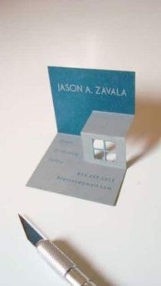 tarjetas de presentacion 3d para arquitectos