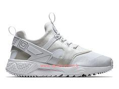 check out fbaa9 3d937 Nike Air Huarache Utility triple Officiel Chaussures urh Pour homme Blanc  2019 806807 100-nike air