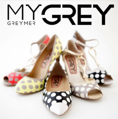 Goodmorning with #mygrey collection #pois & #color for #beautiful #outfit !