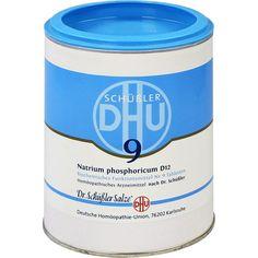 BIOCHEMIE DHU Schüssler Salz 9 Natrium phosphoric. D12 Tabletten:   Packungsinhalt: 1000 St Tabletten PZN: 00274602 Hersteller:…