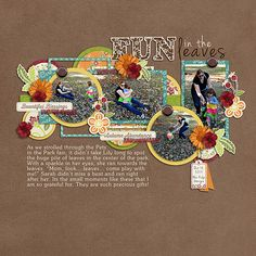Layout using {Autumn Doodles} Digital Scrapbook Kit by Paper Garden Projects available at The Digichick http://www.thedigichick.com/shop/Autumn-Doodles-Digital-bundle.html #papergardenprojects