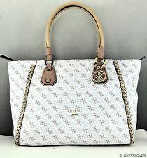 Nuevo Y Elegante Bolso Guess Bolso Original confidencial Cadena Damas Blanco Bolsa