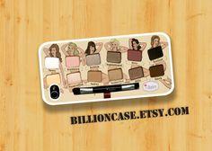 MakeUp Set Nude Tude - iPhone 4 Case iPhone 4s Case iPhone 5 Case idea case Galaxy Case Hard Plastic Case Rubber Case. $16.00, via Etsy.