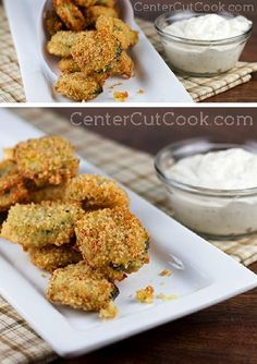 Woah, let me tell you about these FRIED PICKLES, yo! They are utterly fan-fricken-tastic. Crispy, crunchy, and just perfect with homemade ranch dip!