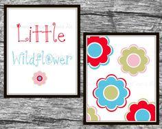 Girls Nursery Wall art Girls Nursery Prints by Raising3Cains