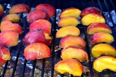 Team Traeger | Traeger Camping Eats: Easy Grilled Peach Cobbler I think I'll bring this to the end of summer BBQ