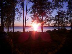 Sunrise at Kuhmo Finland  Photo @millamartta