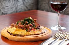Red polenta with goat ragú - Italian Cuisine Goat Recipes, Polenta Recipes, Italian Recipes, Flint Corn, Goat Meat, Sbs Food, Restaurant Menu Design, Specialty Foods, Recipes