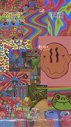 Retro Wallpaper Iphone, Hippie Wallpaper, Butterfly Wallpaper Iphone, Trippy Wallpaper, Iphone Wallpaper Tumblr Aesthetic, Iphone Background Wallpaper, Aesthetic Wallpapers, Cute Patterns Wallpaper, Pretty Wallpapers