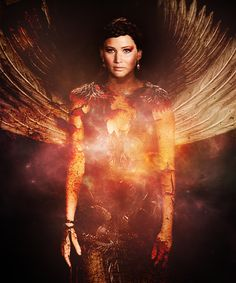 Katniss Everdeen, the girl who was on fire, you have provided a spark, that left unattended, may grow into an inferno that destroys Panem.