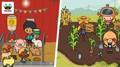https://flic.kr/p/Nyne1o | Toca Life: Farm | Toca Life: Farm is out on the App Store, Google Play and Amazon Appstore on October 27, 2016.   Art by Daniel Abensour, Paulina Sadowska, Rebecca Tell, Ewa Kossowska and Viktor Khan.