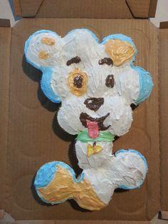 Bubble Guppies Puppy Cake