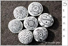 mandala relax paintedstones isassidelladriatico pebbles and stones mandalas natural. Black Bedroom Furniture Sets. Home Design Ideas